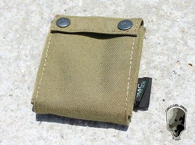 TMC Helmet Counter Weight Bag Tactical Airsoft Hunting Duty Pouch Khaki TMC1777
