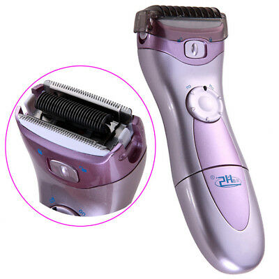 Hs-3001 Lady Women Shave Electric Shaver Bikini Hair Remover Wet Dry Trimmer Uk