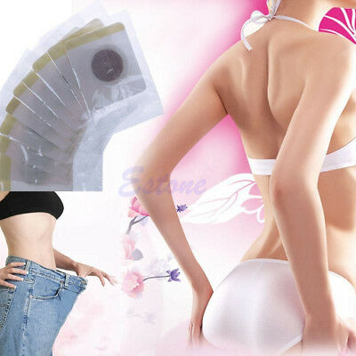 30 x Slim Magnetic Patch Diet Slimming Weight Loss Adhesive Detox Burn Pads Fat