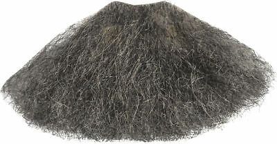 Morris Costumes Trim To Fit Goatee 1 Point Grey Real Wiry Human Hair . CB38GY