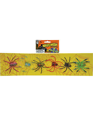 Morris Costumes Decorations & Props Bugs Spiders Strip Of 6. SS93193S
