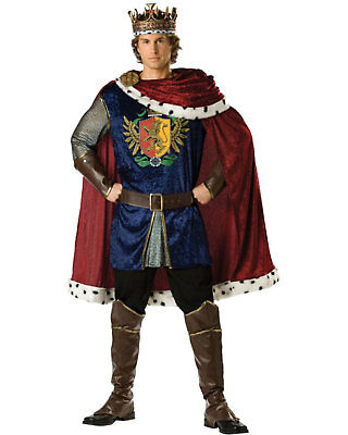 Adult Mens Noble King Medieval Halloween Joffrey Game of Thrones Costume Fancy