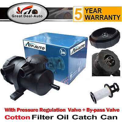 Pro 200 Vent Oil Catch Can Turbo Patrol Diesel For Landcruiser Hilux Navara 4WD