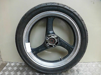 Suzuki Gsx600F Gsxf600 Gn72A 1997 Front Wheel With New Contigo Tyre 110/80-17