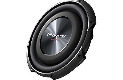 """Pioneer TS-SW3002S4 1500W 12"""" TS Series Shallow Mount Single 4 ohm Subwoofer"""