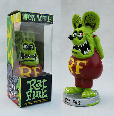 Tales of the Rat fink green shake head doll figure figures toy