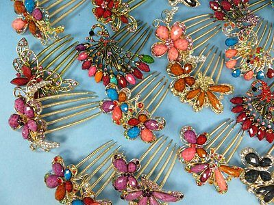 US Seller-lot of 10 wholesale Boho victorian Hair Accessory french hair comb