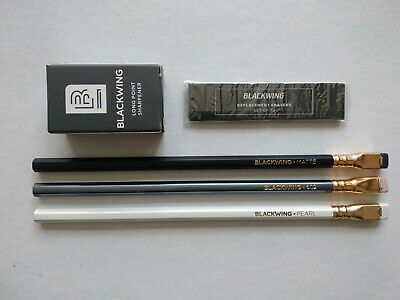 PALOMINO BLACKWING 3Pencils(Original, 602, Pearl 1each) & Sharpener & Eraser Set