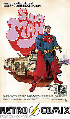Dc New 52 Superman #40 Movie Variant New/unread Bagged & Boarded