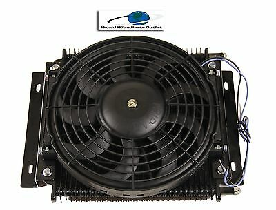 Hayden Remote Transmission Oil Cooler 526 With Fan Plate and Fin Type OC-526