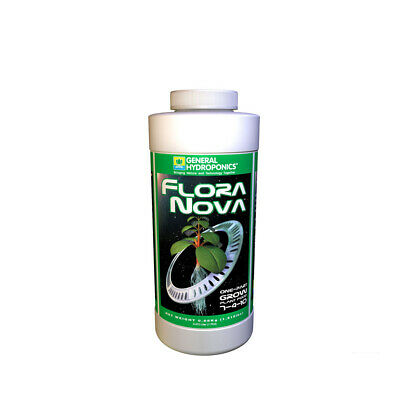 General Hydroponics Flora Nova Grow - 480ML / 946ML / 3.79L | Grow Base Nutrient