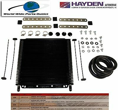 Automatic Transmission Oil Cooler Hayden 679/OC-1679  Plate and Fin Type