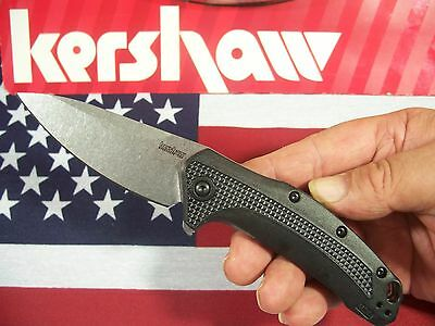KERSHAW usa - LINK 1776 spring assist FLIPPER SpeedSafe knife KAI 420-HC blade