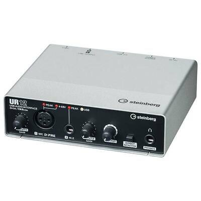 Steinberg UR12 192 kHz - 2in/2out USB Audio Interface