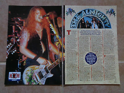The Almighty_Junkmale_MAGAZINE CLIPPINGS_CUTTINGS_ships from AUSTRALIA_10D
