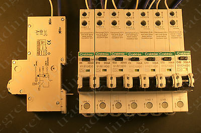 Crabtree RCBO 61/range 30mA Starbreaker - Free Delivery - TESTED - UNUSED
