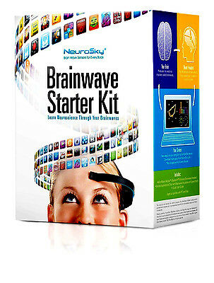 BrainWave Starter Kit Compatible w/ iOS Android PC NeuroSky MindWave Mobile Gift