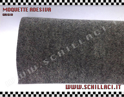 Fitted carpet acoustic adhesive GRIGIO - cloth platforms interior car car stereo