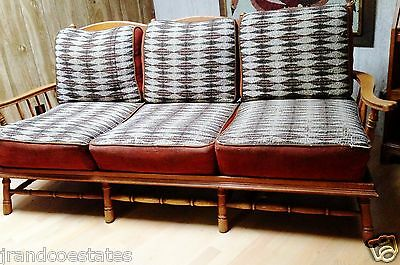 Stickley antique bench sofa or couch made in Grand Rapids Michigan
