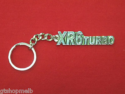 Ford Falcon Xr6 Turbo Key Ring For Ba Bf Fg Fgx G6E Typhoon Fpv Brand New