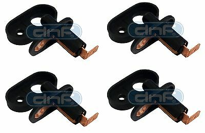 4 x Universal Door Switch & Gasket - Courtesy/ Interior Light & Alarm Bonnet Pin