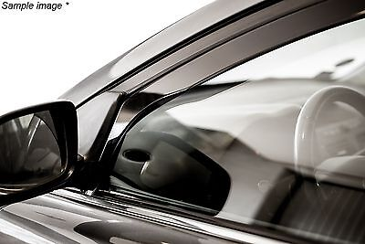 Heko Wind deflectors Rain guards for Ford Focus 2 II MK2 Front Left & Right