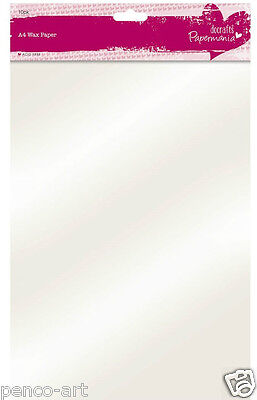 Docrafts Papermania A4 wax paper for accurate die cutting pack of 10 sheets