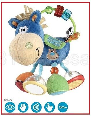 ❤ PLAYGRO Toy Box Clip Clop Activity Rattle 0m+ Rattling and Teething ❤