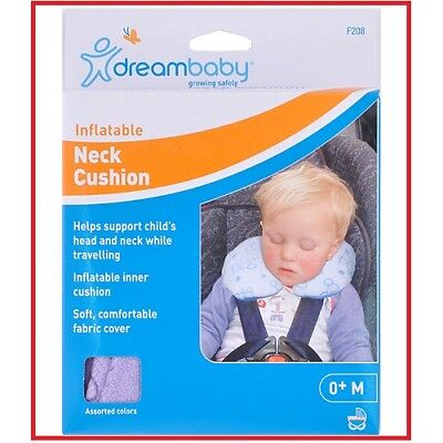 ❤ Dream Baby Dreambaby Car Safety Neck Head Cushion Inflatable Travel ❤