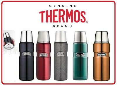 Thermos STAINLESS STEEL VACUUM Insulated 470ml 0.47 L 12hr Hot 24hr Flask Bottle