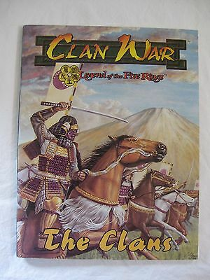 Clan War Legend of the Five Rings The Clans