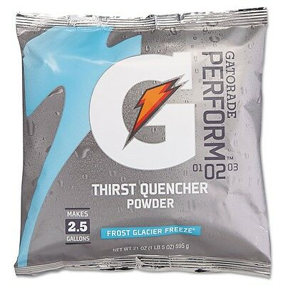 G2 Powdered Drink Mix, Glacier Freeze, 21oz Packet, 32/Carton - QOC 33677