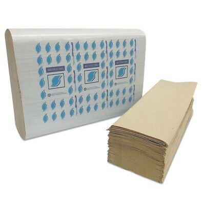 Multi-Fold Paper Towels, Kraft, 1-Ply - GEN MF4001K