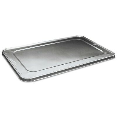 Full Size Steam Table Pan Lid For Deep Pans, Aluminum, 50/Case - BWK LIDSTEAMFL