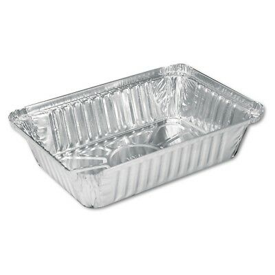 Aluminum Oblong Pan, 2 1/4 lb, 8 1/2 x 5 15/16 x 1 13/16, 500/Carton
