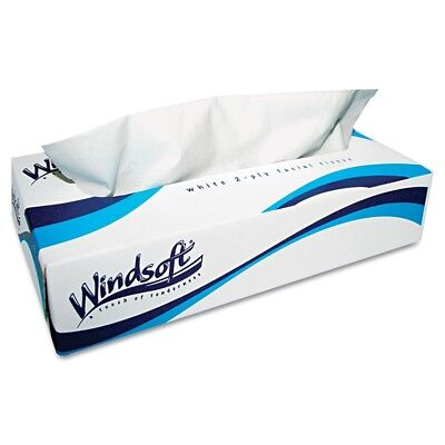 Facial Tissue in Pop-Up Box, 100/Box, 6 Boxes/Pack - WIN 2430