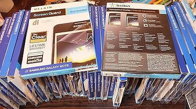 Samsung Galaxy Note Belkin Screen Protector + Stylet Pen Stock Clearance