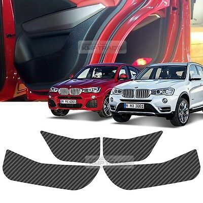 Carbon Inside Door Decal Sticker Protector for BMW 2015 X3 / X4 / F26 / LCI