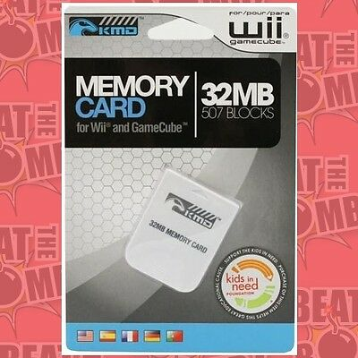 Ngc Gamecube Memory Card 32mb Generic  - BRAND NEW