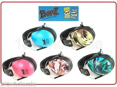 ❤ Baby Banz Earmuffs Soft Cup Funky Ear muffs Kids Babies Infant Protector ❤