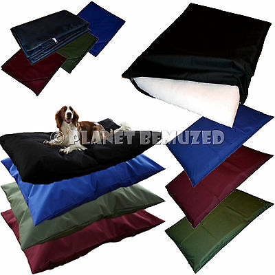 Extra or Large Pet Dog Bed Beds or Cover Waterproof Resistant Cushion XL Luxury