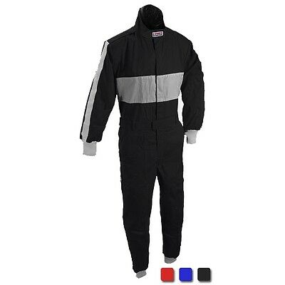 G-FORCE 105 SFI 3.2A/1 Certified Pyrovatex Racing Suit Red-US Mens L