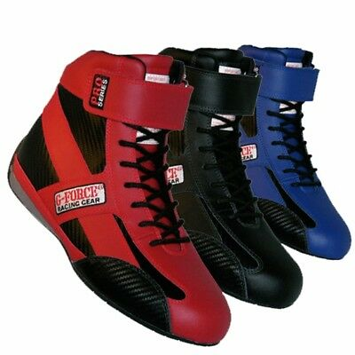 G-FORCE 236 Pro Series SFI 3.3/5 Racing Shoes, Red, Size 5