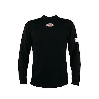 Bell Racing Inner X Carbon Underwear Top/Shirt SFI 3.3, Black, Large