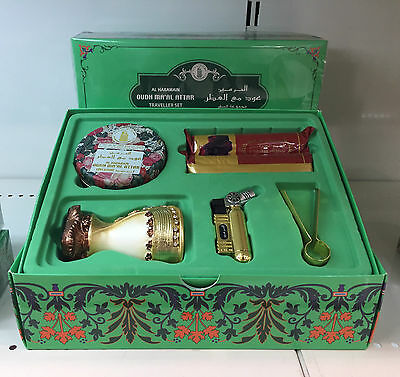 Al Haramain OUDH MAAL ATTAR  incense,Bakhoor, Agoorwood  Set