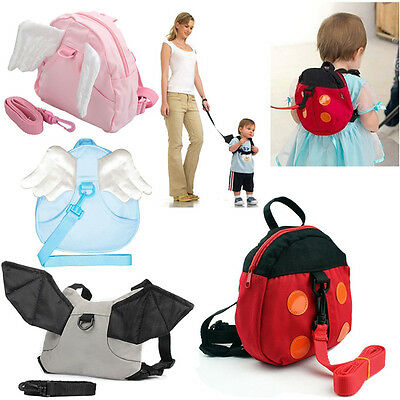 Infant Walking Learning Assistant Leash Harness Reins Toddler Kid Strap Belt New