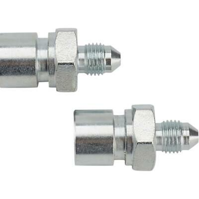 """Speedway 6174129 Steel Straight 3/8""""-24 IFF Inverted Flare to -3 AN Male Fitting"""
