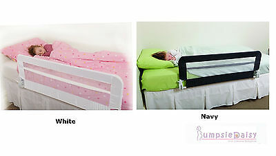 Dreambaby Harrogate Bed Rail Fully Assembled Baby Dream Bedrail Navy or White
