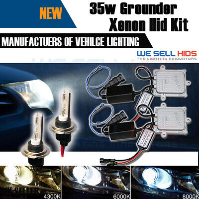 CANBUS GROUNDER HID XENON CONVERSION KIT H7 35w Bulbs upgrade lamp uk seller
