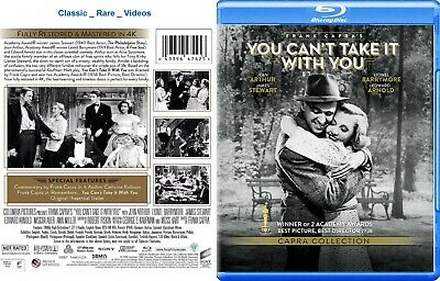 You Can't Take It With You ~ New Blu-ray ~ Jean Arthur (1938) SPHE
